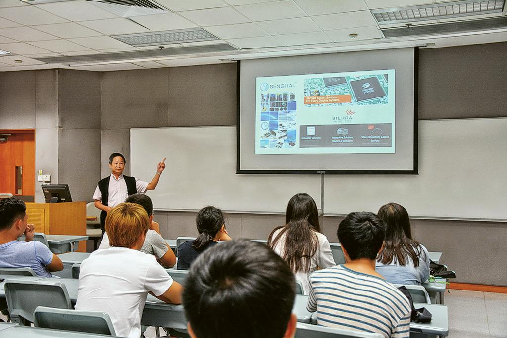 中大電子工程學系 配合科技高速發展 畢業生待遇從優