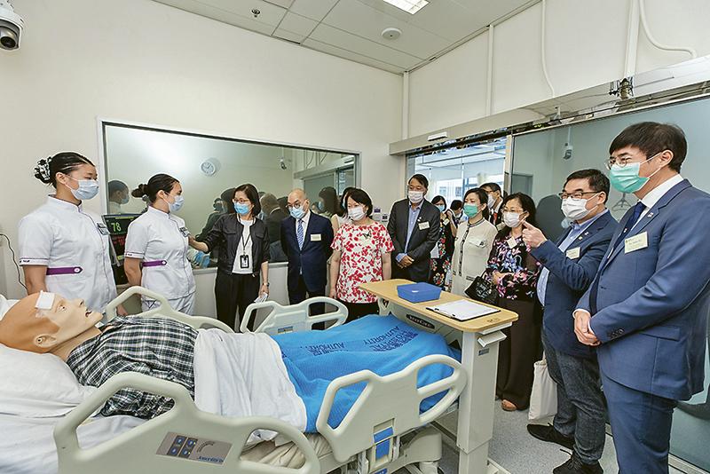 葵興校舍開幕暨十周年校慶啟動 東華學院邁向升格私立大學