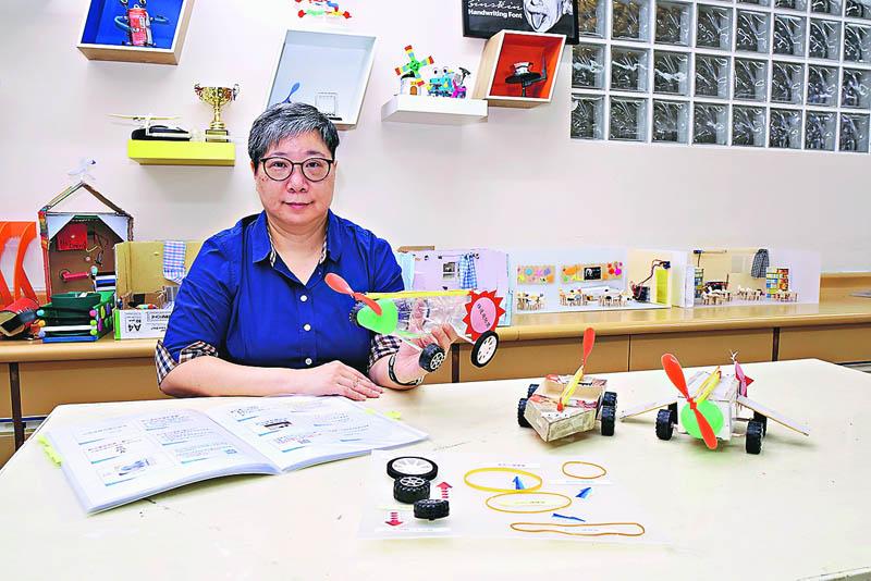 鄭麗娟老師分享推動STEM心得 「課堂注入STEM元素須以學生為本」