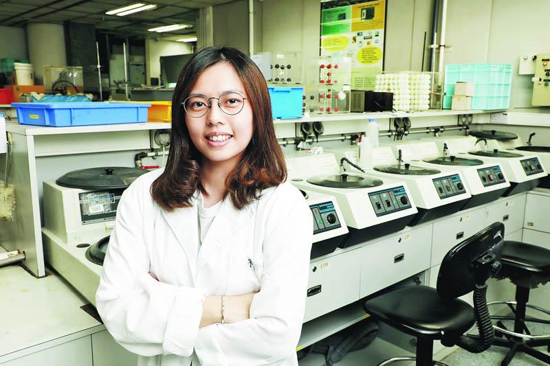 應用層面廣 工作出路多 陳詩鈺:材料科學跟生活息息相關