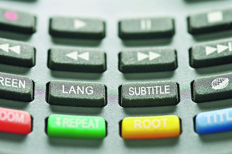 妙譯字幕 助觀眾輕鬆觀賞異國風情文化