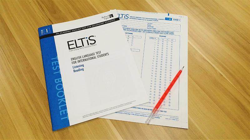 新興美國中學入學試ELTiS 適合留學生及交換生報考