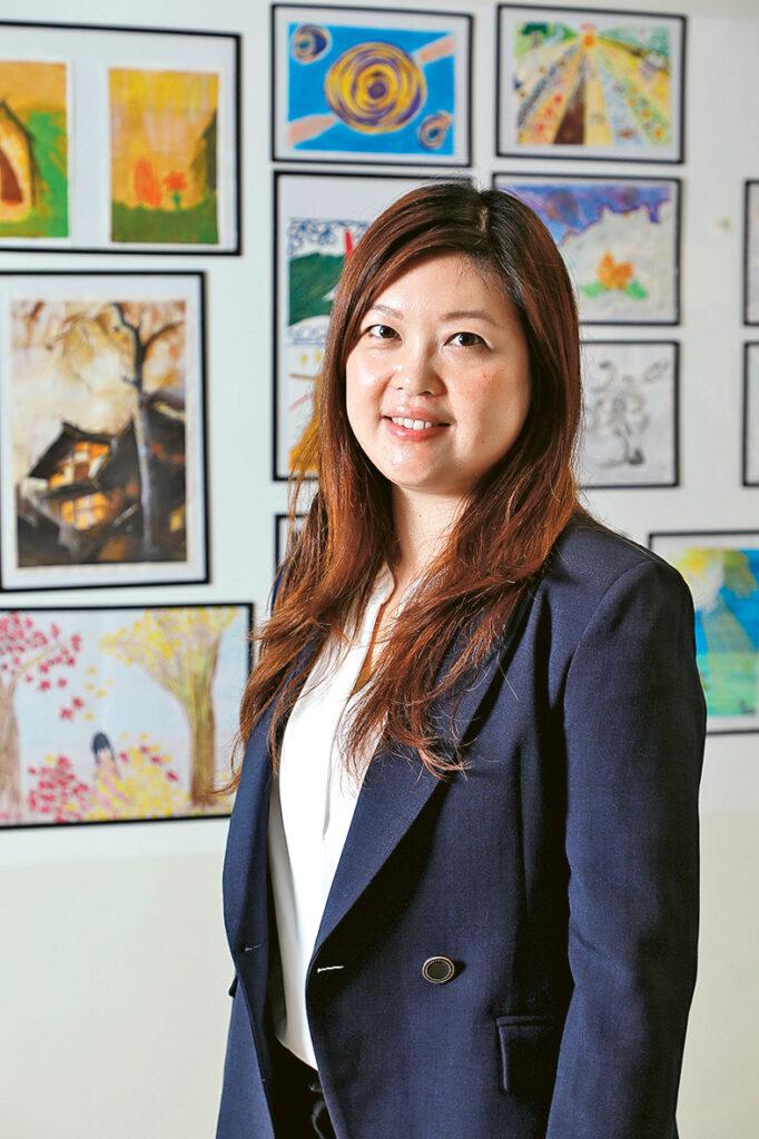 袁穎忻博士指,學系安排學生進行400小時工作實習,實踐所學。
