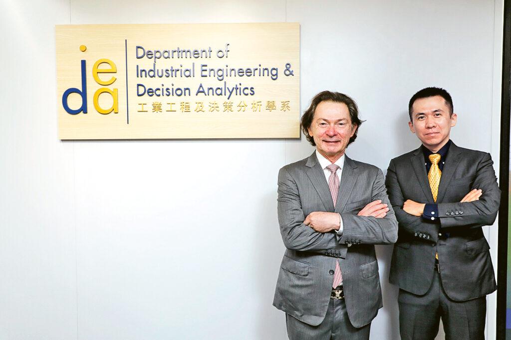 Guillermo Gallego教授(左)和張季恆教授表示,學系開辦的兩項課程各具特色,但同樣着重科技應用的培訓。