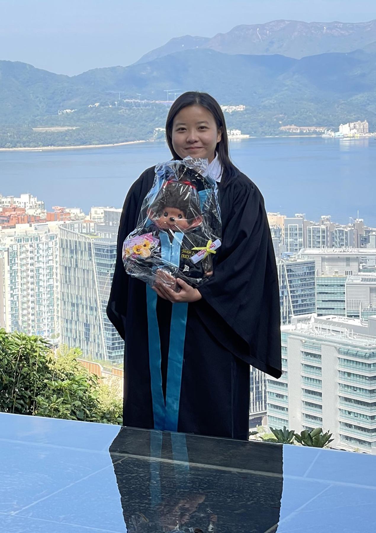麗荷現正修讀學位課程,希望進一步裝備自己。