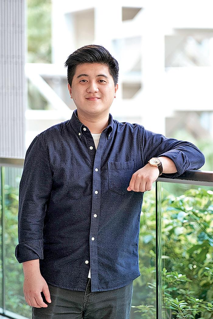 劉宇謙,金融科技及創新榮譽工商管理學士(JSSU96)三年級生。