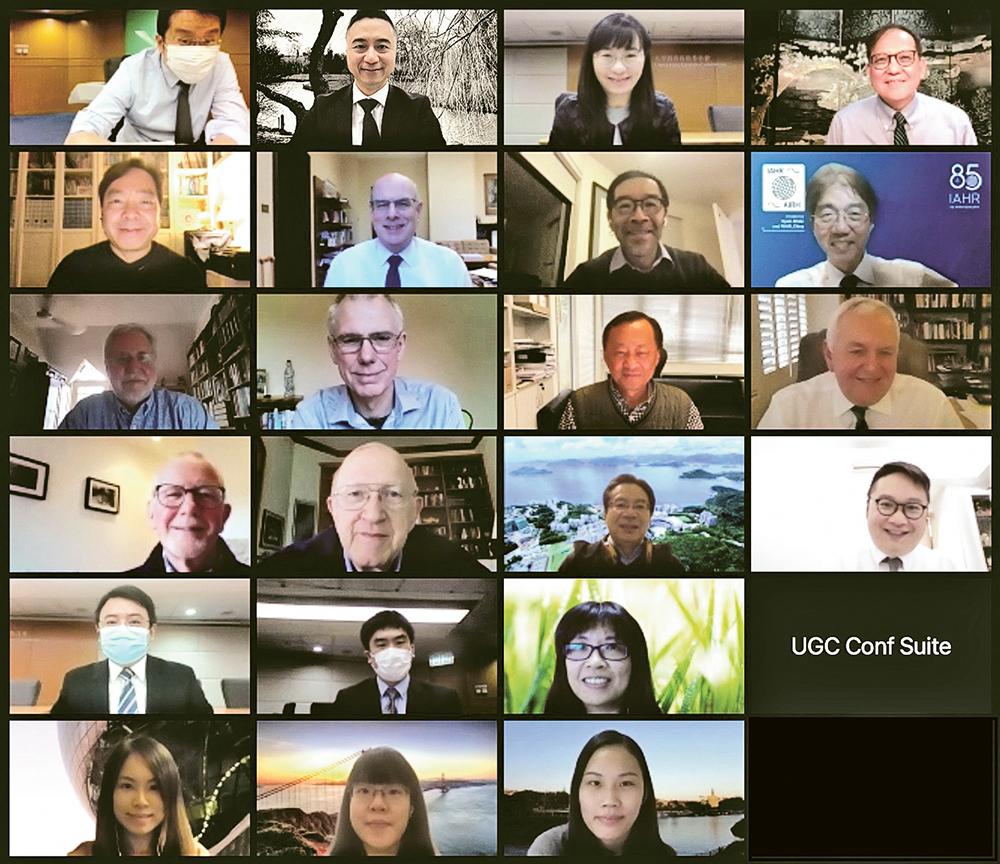 世界各地專家透過網上平台進行視像會議,即使在疫情下,評審工作仍然順利完成。
