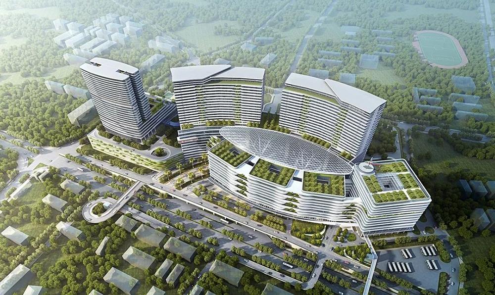中大(深圳)醫院預計2026年啟用(網上圖片)