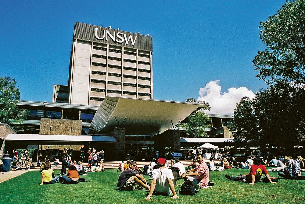 UNSW是澳洲八大大學之一,學校的商科尤其出名。