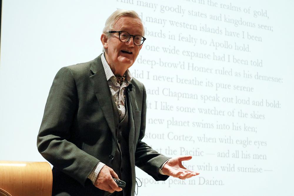 著名文學翻譯家閔福德教授於恒大舉辦「文化與翻譯」講座系列